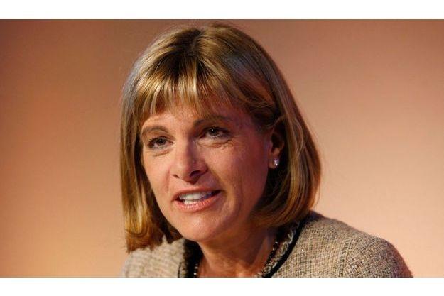Anne Lauvergeon, P-DG d'Areva. Elle est candidate au renouvellement de son mandat, fin juin.