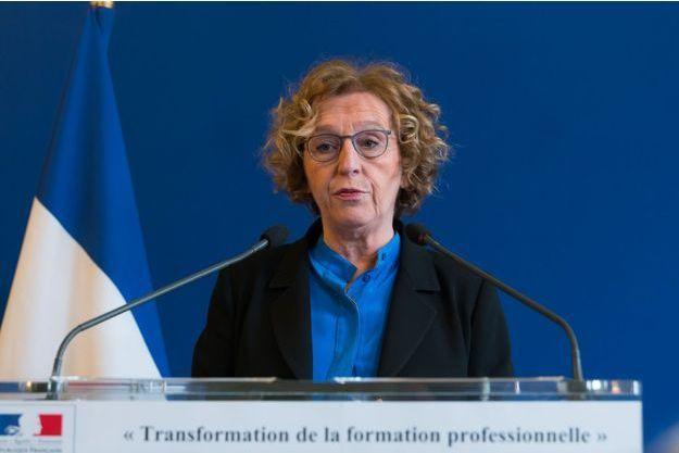 Muriel Pénicaud, la ministre du Travail, présente la réforme de la formation professionnelle lundi.