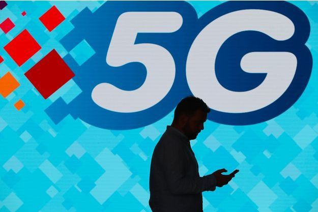 Le logo de la 5G.