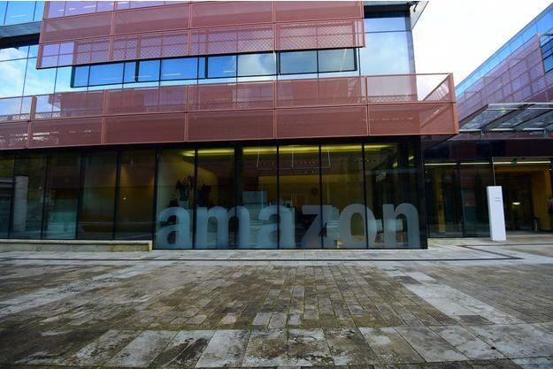 Le siège d'Amazon au Luxembourg, en novembre 2014.