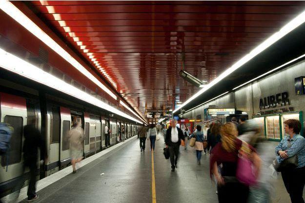 Sur son site Internet, la RATP publie les relevés de qualité de l'air dans deux stations de métro et dans la gare RER d'Auber.