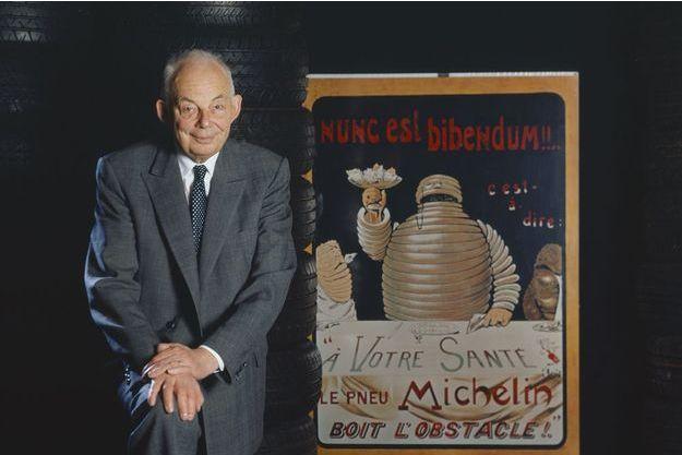 François Michelin donne une interview exclusive à Paris Match en 1996.