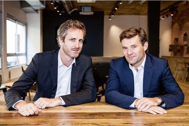 Frédéric Jousset et Olivier Duha, les deux fondateurs de WebHelp.