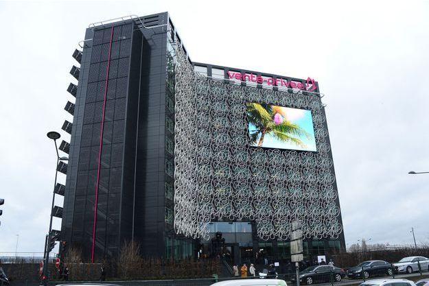 Le siège de vente-privee.com, à Saint-Denis, en janvier 2016.