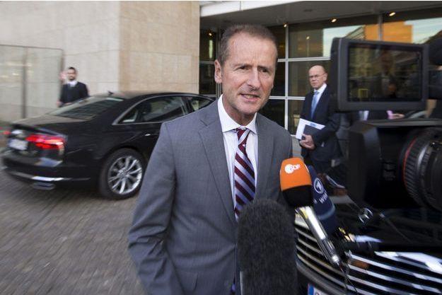 Herbert Diess, patron de la marque Volkswagen au sein du groupe du même nom, le 29 septembre.