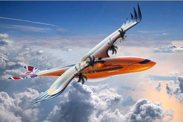 Airbus présente un avion qui ressemble à un oiseau