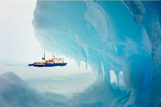 Un iceberg en Antarctique.