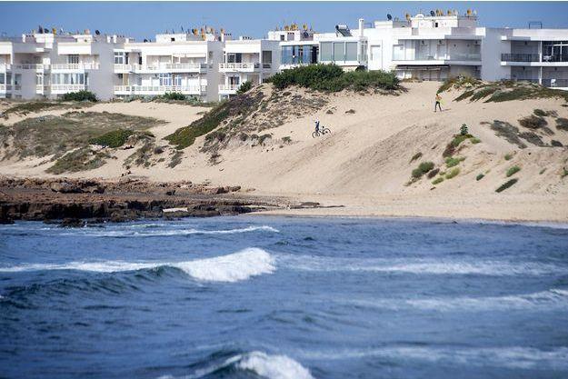 Une des dunes de Mohammedia, au Maroc.