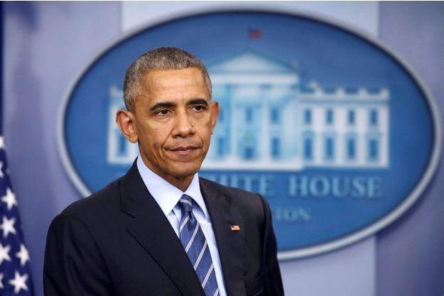 Barack Obama à la Maison Blanche, le 16 décembre 2016.