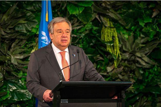 Le secrétaire général de l'ONU Antonio Guterres, le 12 mai.