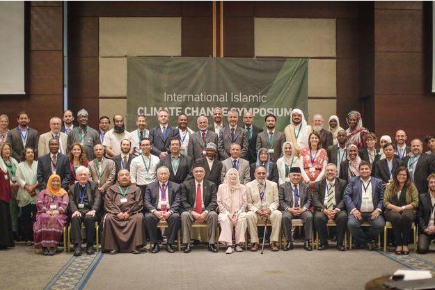 Les représentants religieux au symposium d'Istanbul.