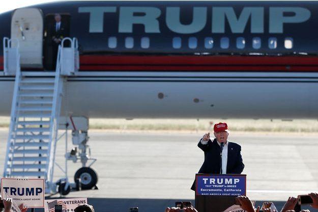 Trump en meeting à Sacramento
