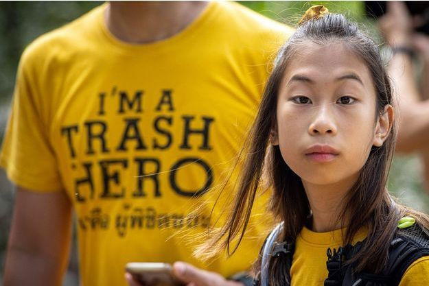 Lily, 12 ans, la Greta Thunberg de Thaïlande en guerre contre le plastique