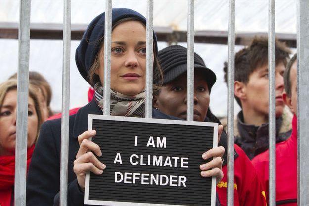 La comédienne manifestait en 2013 avec Greenpeace pour la libération de militants écologistes emprisonnés en Russie.