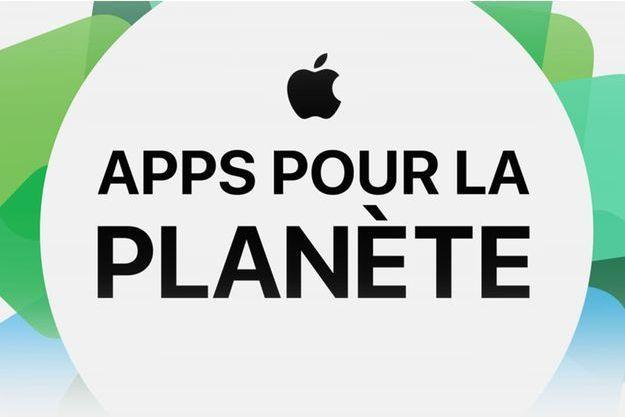 Apple lance Apps for Earth au profit de la planète.
