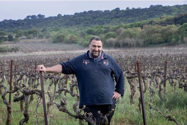 Pierre Quinonero, 50 ans, vigneron au domaine La Garance (Hérault).