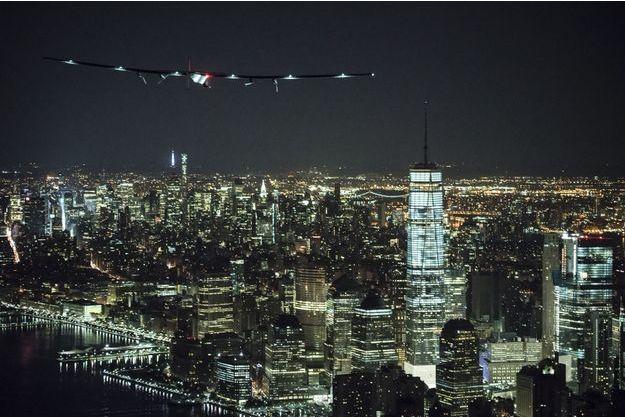 Solar Impulse 2 atteint New York le 11 juin 2016.