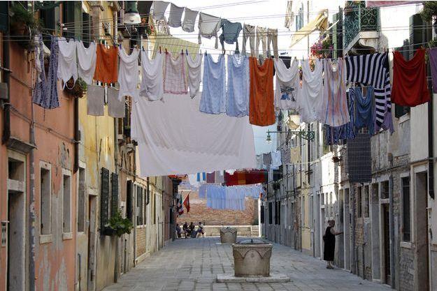 Du beau linge à Venise