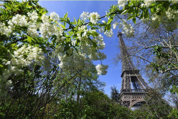 Vue de la Tour Eiffel.