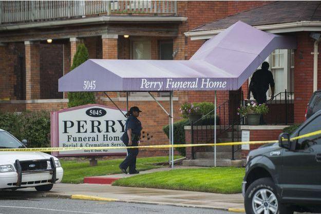 La Perry Funeral Home a été fouillée ce week-end.