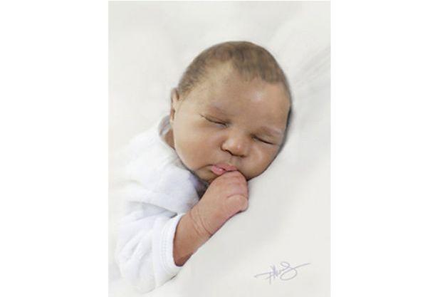 """Un dessin de la petite """"Baby June"""" a été dévoilé."""