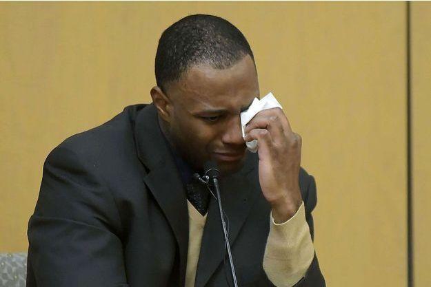 Torrey Green témoigne lors de son procès, le 15 janvier dernier.
