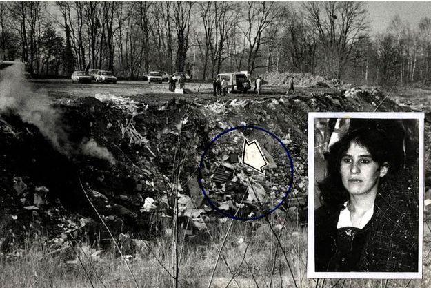 La décharge où le corps découpé de Nelly Haderer avait été découvert en 1987.