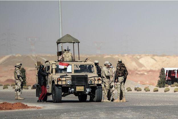 Illustration de l'armée égyptienne.