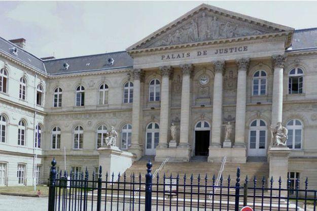 Le palais de justice d'Amiens, où va avoir lieu le procès.