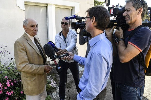 Bernard Méraud, l'avocat du suspect écroué répond à la presse.