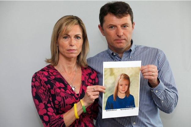 Kate et Gerry McCann en mai 2012.