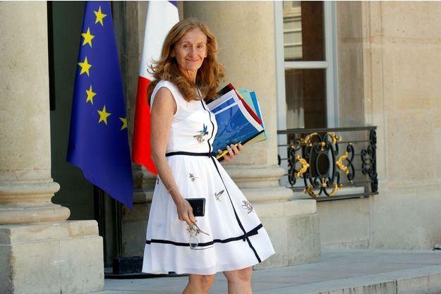 Nicole Belloubet à l'Elysée le 27 juin.