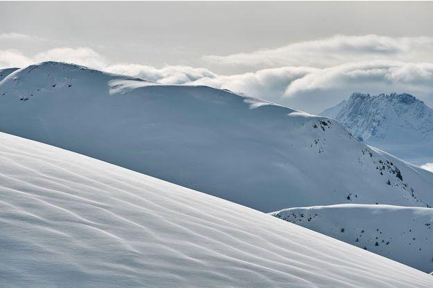 Une vue de l'Alpe d'Huez (Isère).