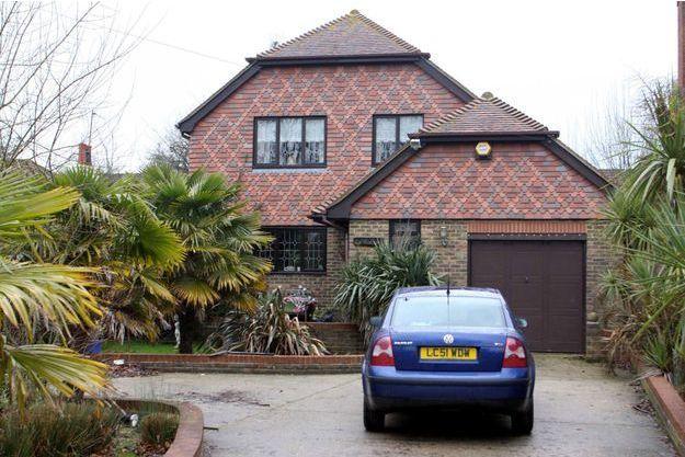 A l'époque où il pensait être devenu père, le petit Alfie vivait dans cette maison avec sa famille.