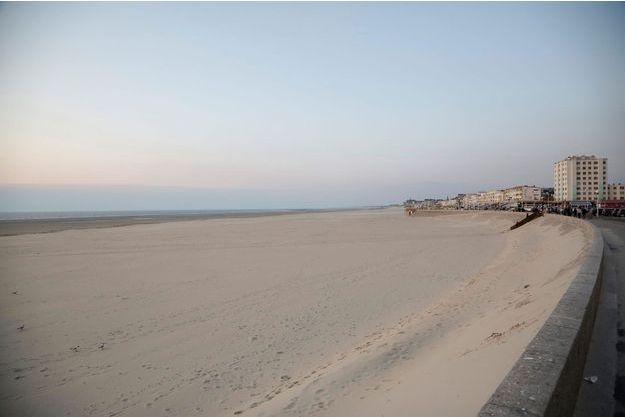 La fillette a été découverte sur cette plage, à Berck.