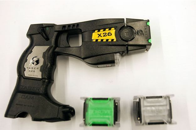 Un taser modèle X26 (photo d'illustration)