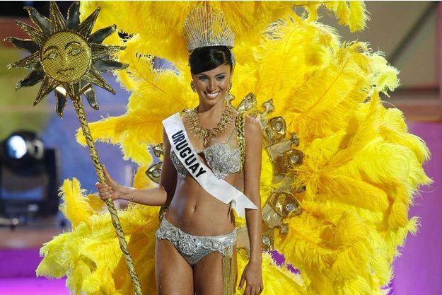 Fatimih Dávila lors de l'élection Miss Univers le 18 juillet 2006.