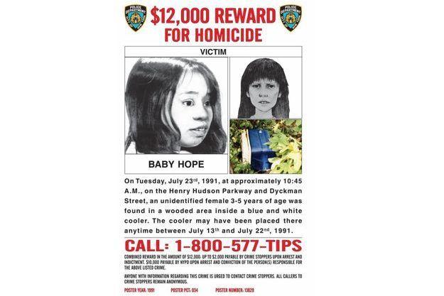 La police proposait 12 000 dollars contre toute information permettant de faire avancer l'enquête.