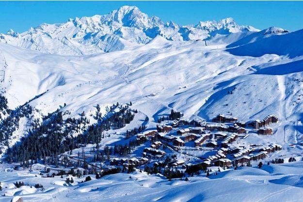 La station de ski de La Plagne.