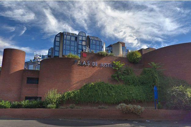 Palais de justice de Seine-Saint-Denis, à Bobigny.