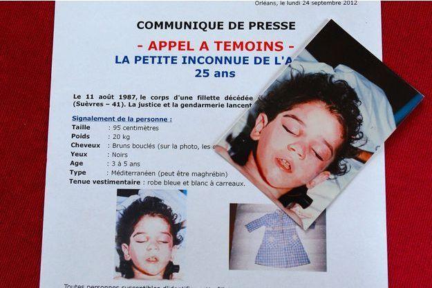 Le corps martyrisé de la petite avait été découvert en 1987, le long de l'autoroute A10.