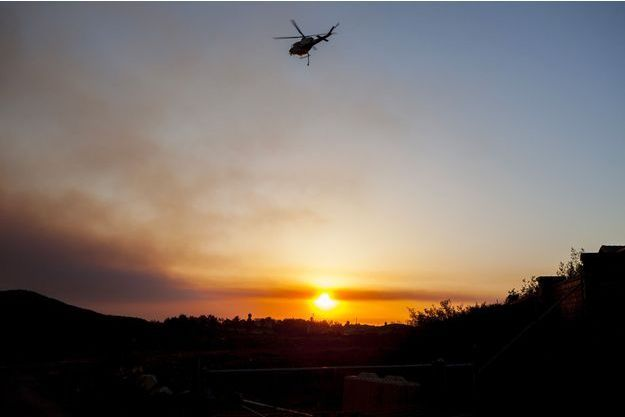 Illustration d'un hélicoptère.