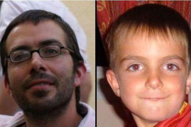 Sylvain Jouanneau et son fils Mathis.