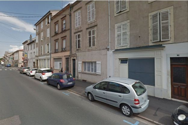 Rue d'Alsace, à Lunéville, où s'est déroulé l'accident, samedi. (photo d'illustration)