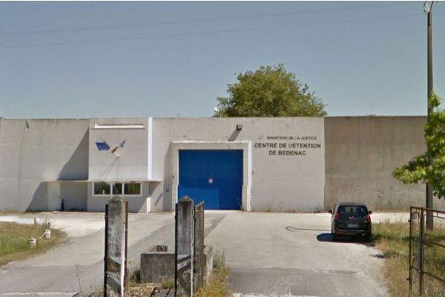 Centre de détention de Bédenac en Charente-Maritime.