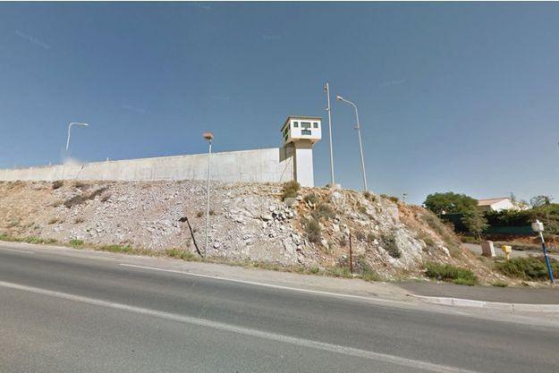 Vue de la prison de Villeneuve-lès-Maguelone.