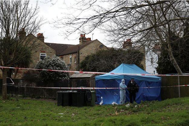 Le corps de Laureline Garcia-Berteaux avait été retrouvé la semaine dernière par les policiers, enterrée peu profondément dans le jardin du logement qu'elle occupait depuis près d'un an à Richmond, au sud-ouest de Londres.