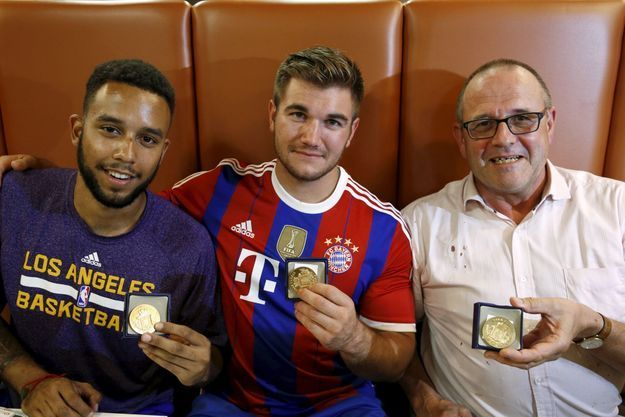 Anthony Sadler, Alex Skarlatos et Chris Norman