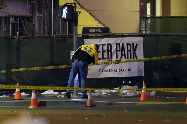 Le drame s'est déroulé sur le strip, à Las Vegas