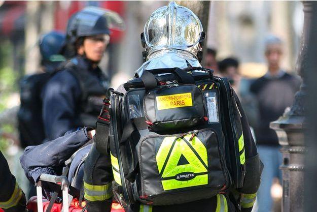 Des pompiers de Paris interviennent en mai lors d'une manifestation. (Photo d'illustration)